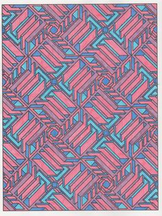 Tesselation patterns 005 from Creative Haven