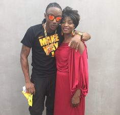 St. Zion: Ever seen a photo of Terry G's mum? See it now!