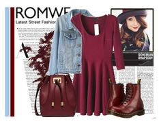 """""""Romwe contest"""" by tihana1 ❤ liked on Polyvore featuring moda, Michael Kors i Dr. Martens"""