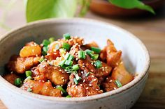 My Paleo Sweet and Sour Chicken - I Heart Umami