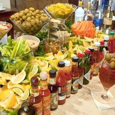 Bloody Mary Party Station – perfect entertaining idea