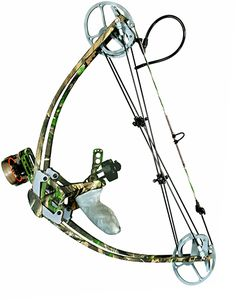 The Liberty I bow. The Ultimate Survival Bow. Easily pack it away into a large backpack. The lightest, shortest, smallest, compact, compound bow. You can even setup/attach a bow-fishing reel. www.libertyarcher...