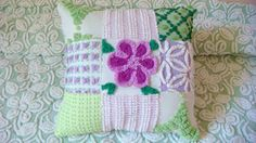 Lime and Lavender Handmade Patchwork Vintage by AlorasAdorables