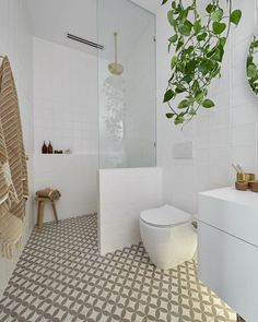Inside The Block's guest ensuite room reveal Ensuite Room, Ensuite Bathrooms, Bathroom Renos, Bathroom Flooring, Bathroom Interior, Bathroom Ideas, Tiny Bathrooms, Budget Bathroom, Bathroom Layout
