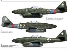Jagdgeschwader 7  JG 7 Nowotny was a Luftwaffe fighter-wing of World War II and the first operational jet fighter Geschwader in the world