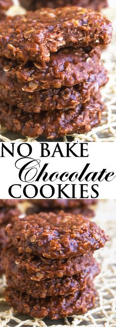 This CLASSIC NO BAKE COOKIES recipe is quick and easy to make with simple ingredients. These old fashioned chocolate no bake cookies are packed with cocoa, peanut butter and oatmeal. From cakewhiz.com