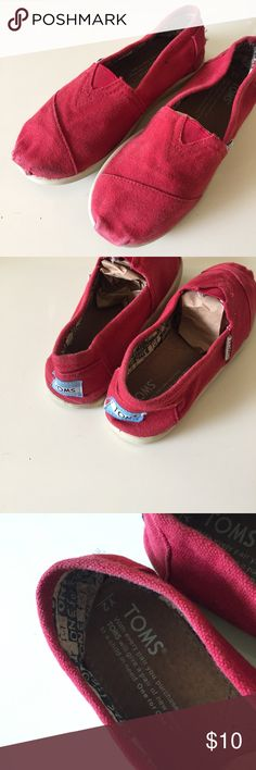 Toms kids size 2 Used Shoes Moccasins