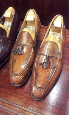 George Cleverley Bespoke Loafers with Tassels theshoesnobblog.com