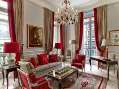 The Royal Suite (Hotel Plaza Athenee) Paris, France