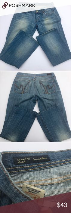 7 For All Mankind Ric Rac #109 flare jeans size 29 7 For All Mankind Ric Rac #109 flare jeans size 29 7 For All Mankind Jeans Flare & Wide Leg