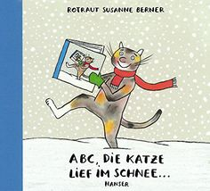 ABC, die Katze lief im Schnee von Rotraut Susanne Berner http://www.amazon.de/dp/3446206329/ref=cm_sw_r_pi_dp_MZztwb0WD8M3K
