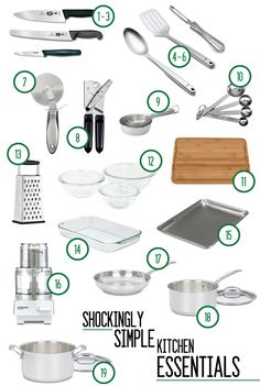 Vintage Appliances Country Living - Home Appliances Advertisement - - Cleaning Appliances Stainless Steel Kitchen Supplies, Kitchen Items, Home Decor Kitchen, Kitchen Gadgets, Kitchen Utensils, Kitchen Essentials List, First Apartment Essentials, Minimal Kitchen, Basic Kitchen