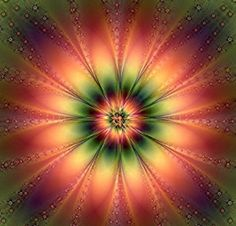 Love, love, love the colors! Natural Fractal. Would make a beautiful quilt