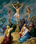 """""""Whoever eats my flesh and drinks my blood remains in me and I in him"""" (John 6:56)."""