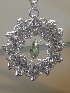 Celtic Vision Chainmaille Christmas Ornament for the by LABweorc, $15.00