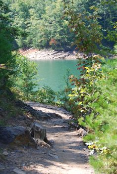 Fontana Lake near Bryson City, NC --- Spent so many times here with Deb when we were young girls.  Enjoyed great hiking (in addition to all the fun water activities).