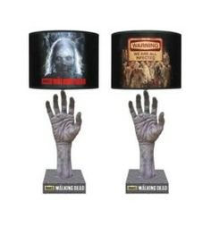 Zombie Lamp – The Walking Dead   Zombie hand reaches up for your Walking Dead lamp sure to keep you awake at night $44.99