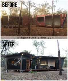 Shipping Container Home Designs, Container House Design, Tiny House Design, Shipping Containers, Shipping Container Homes Australia, 40ft Shipping Container, Shipping Container Buildings, Usa Living, Casas Containers