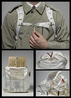 Tom Sachs NIKECraft bags and trench