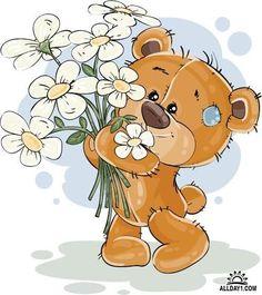 Vector Bears Collection #11 - 25 Ai Мишки