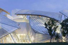 La Fundación Louis Vuitton en París