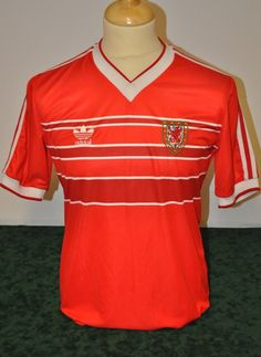 Mark Hughes Adidas Home 1985