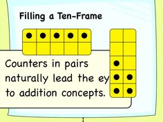 Getting Started with Ten-Frames For more pins like this visit: http://pinterest.com/kindkids/making-math-meaningful-charlotte-s-clips/