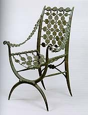Auction Report: Christie's and Sotheby's Century Decorative Arts Patio Seating, Sewing Crafts, Sewing Projects, Art Decor, Home Decor, Metal Working, Chairs, Inspiration, Furniture