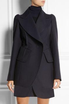 Maison Martin Margiela|Wool and mohair-blend twill blazer