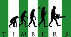 Timbers evolution. #portlandtimbers #RCTID