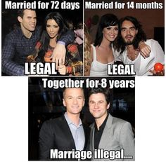 Legal Marriage - gay marriage, homosexuality, marriage, hypocrisy, love is love Dammit!