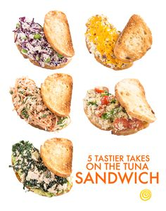 No more boring tuna salad sandwiches for lunch. Bust the monotony with one of these 5 easy ways to make a tastier tuna salad sandwich.