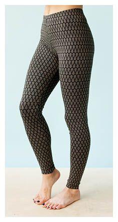 Women's Leggings | Nosh.fi - free sewing pattern (finnish)