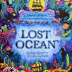 lost ocean coloured pages - Google Search
