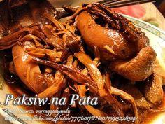 Paksiw na Pata (Pork Hock Sweet Sour Stew)   Panlasang Pinoy Meat Recipes
