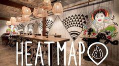 Hottest Restaurants in SF January 2017 Heatmap