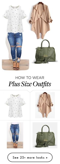 """""""For my plus size ladies:your are beautiful the way you are"""" by nataliya-mostriansky on Polyvore featuring Avenue and Chicnova Fashion #plussizeoutfits"""