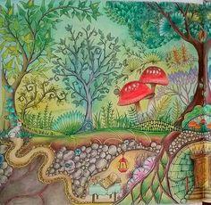Underground burrow enchanted forest