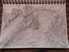 Copperworks Dock, Llanelli c.1850