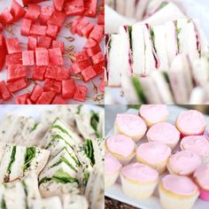 A Sweet Occasion : A Hazy Day - cute high tea food ideas [picture only]