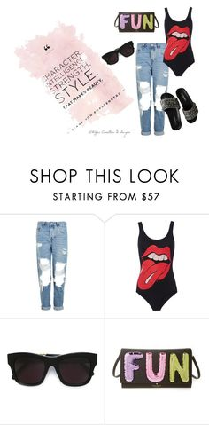 """rs"" by kety-de-jesus ❤ liked on Polyvore featuring Topshop, MadeWorn, STELLA McCARTNEY, Kate Spade and Chanel"
