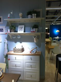 Ikea. The foundation for a coffee bar