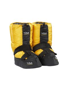 8f46a02992d Expedition Down Boots perfect for relaxing around camp. Climbing