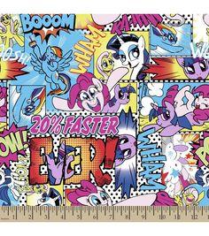 My Little Pony Comic Cotton Fabric