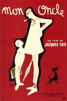 Minimalist poster! | Mon Oncle (1958)