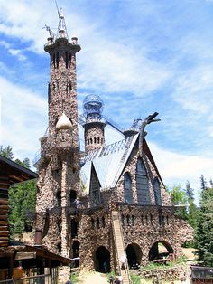 Bishop's Castle ! (Colorado) Have been here and it is awesome ! Jim Bishop began buliding this castle when he was 15 years old by hand ! Must see, it is incredible !