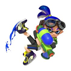 Nintendo is looking to recruit a whole new legion of Splatoon players, and kicking off the initiative is the return of the Testfire Demo. This means that anyone who owns a Wii U will be able to give t Splatoon Costume, Splatoon Games, Splatoon Cosplay, Nintendo Splatoon, Nintendo Characters, Nintendo Games, Wii U, Game Character, Character Design