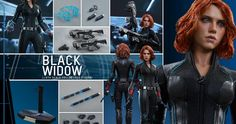 'Avengers 2' Black Widow Hot Toys Action Figure Unveiled -- A Black Widow action figure based on Scarlett Johansson's likeness has been revealed as part of Hot Toys 'Avengers: Age of Ultron' action figure line. -- http://www.movieweb.com/avengers-2-age-ultron-black-widow-figure-toys