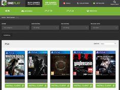 OnePlay propose de jouer à des jeux vidéo dans les bibliothèques