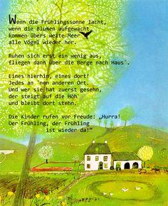 Frühling  #kindergarten #erzieher #erzieherin #gedicht #geschichte #frühling  #kita